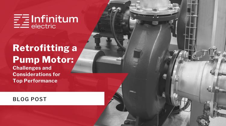 Retrofitting a Pump Motor